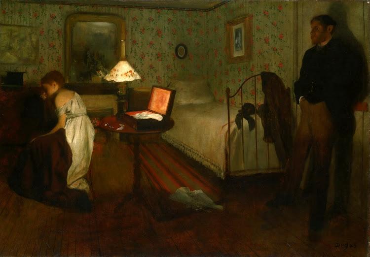 Edgar Degas - Interior (1868)