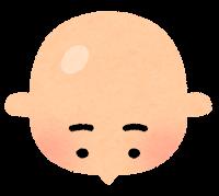 薄毛のイラスト10