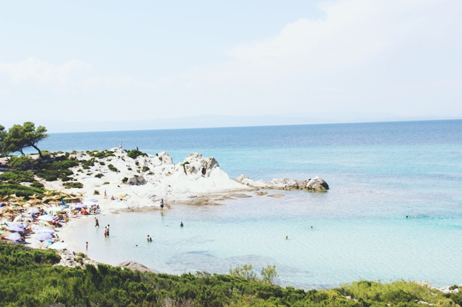 Best and most famous beaches in Sithonia