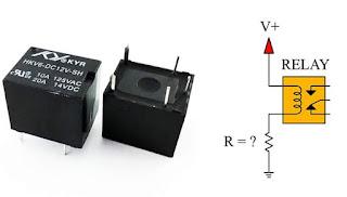 Cara Menentukan Ukuran Resistor Untuk Relay