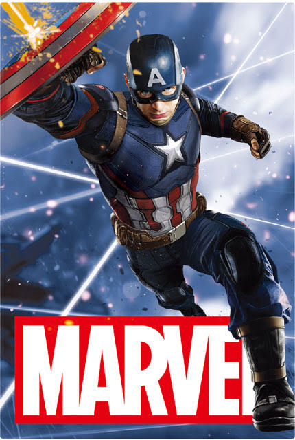 MARVEL Captain America 3D Lenticular Card