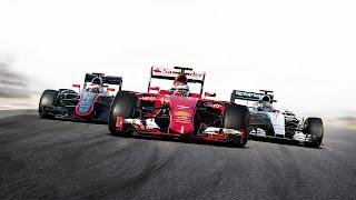 F1 Mobile Racing PS4 Wallpaper
