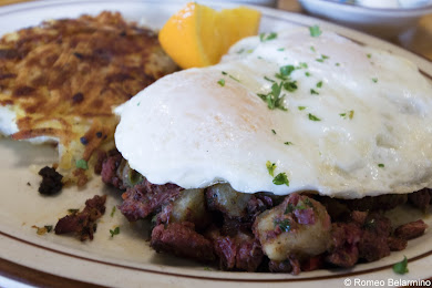Mother Hubbard's Restaurant Corned Beef Hash Buellton California Weekend Getaway