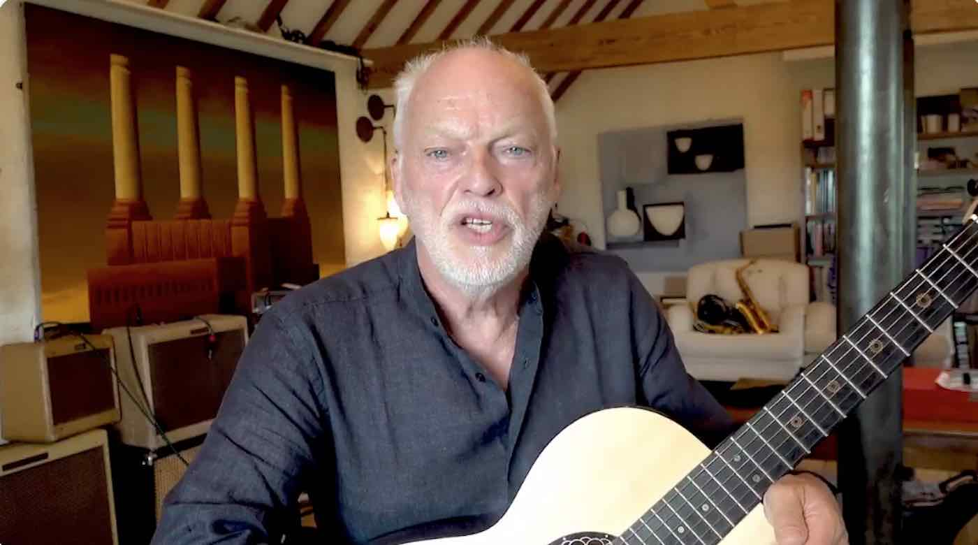 Pink Floyd's David Gilmour Auctioned Off 126 Guitars And Raised $21 Million To Fight Climate Change