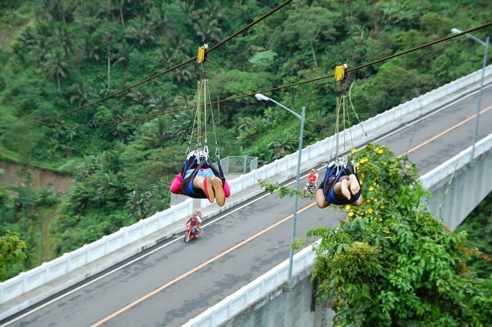 Zipline in Leyte