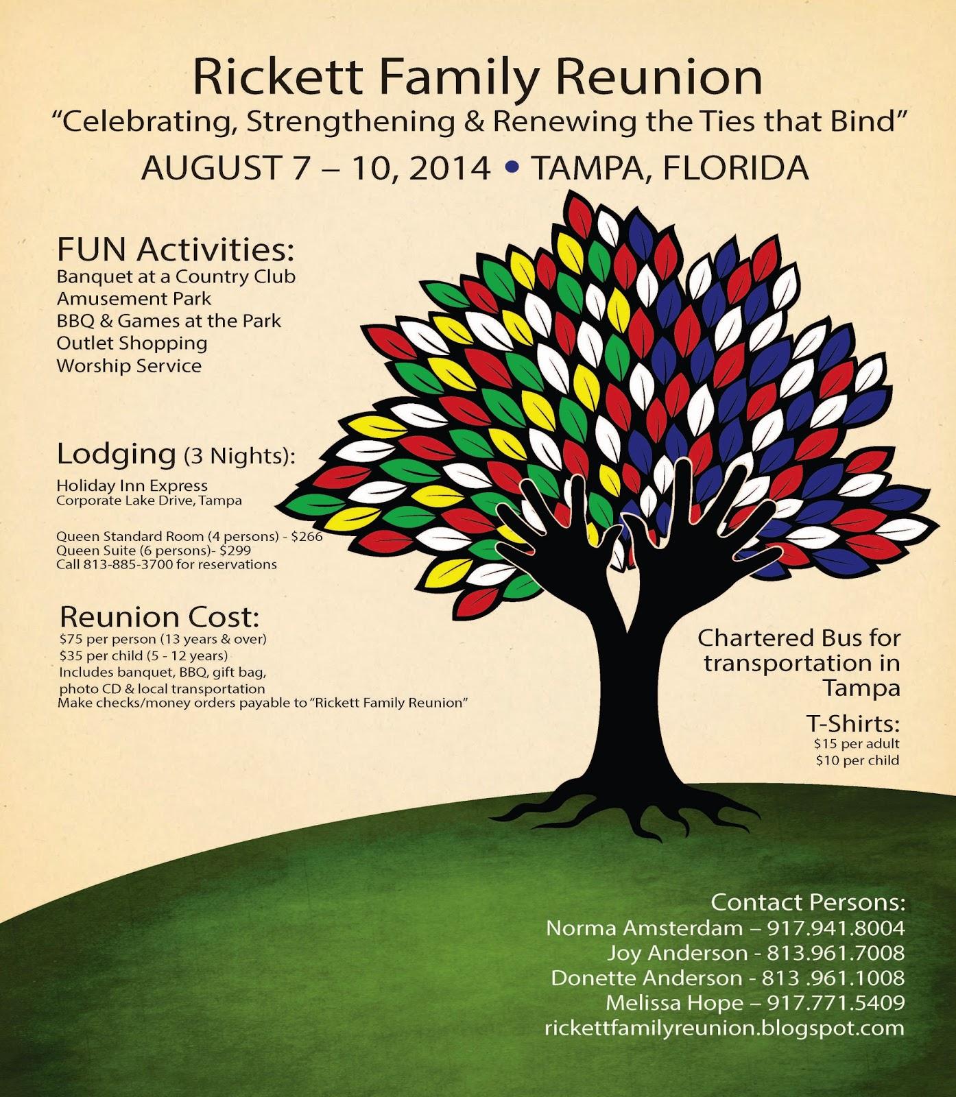 Rickett Family Reunion Blog