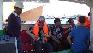 Penasehat Menteri Dan Bupati Pekalongan Uji Ketangguhan Kapal Peralon Arungi Laut Jawa