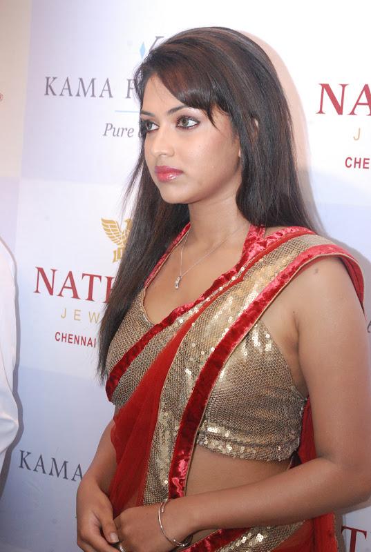 Amala Paul New Photos in red Saree