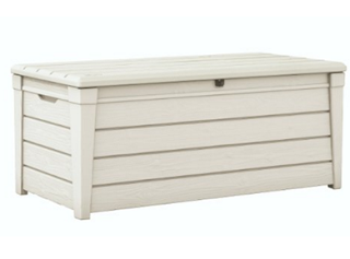 Keter Brightwood Plastic Deck Storage Container Box 120 Gal