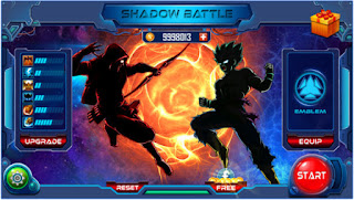 Download Game Shadow Battle V1.1.9 MOD Apk ( Unlimited Money )