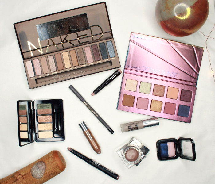 Urban Decay Naked Lorac Unzipped Ocean Sunset Palette guerlain kiko clinique lancome laura mercier bareMinerals Burberry