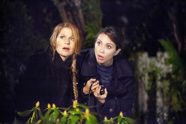 AURORA TEAGARDEN: A BONE TO PICK (2015). Candace Cameron Bure stars in this Hallmark Movies & Mysteries title. All text is © Rissi JC