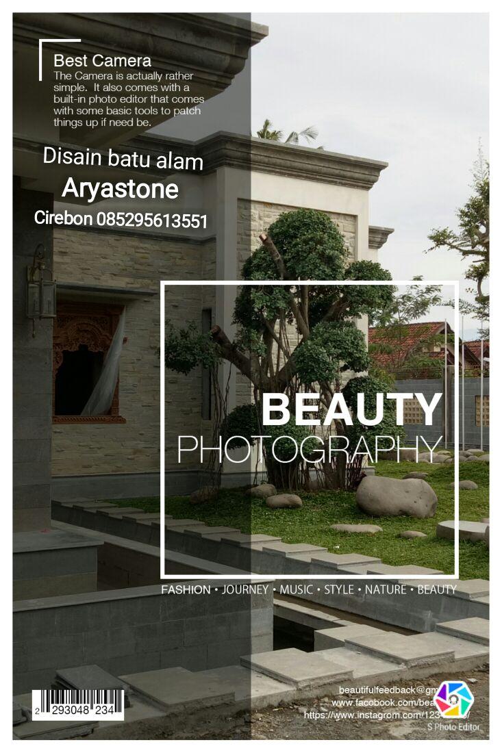 Batu Alam dan batu andesit Cirebon