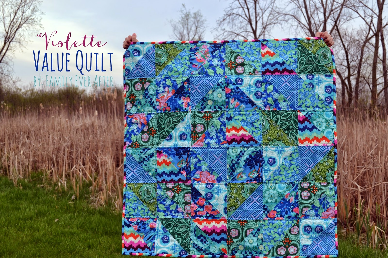 Violette Value Quilt