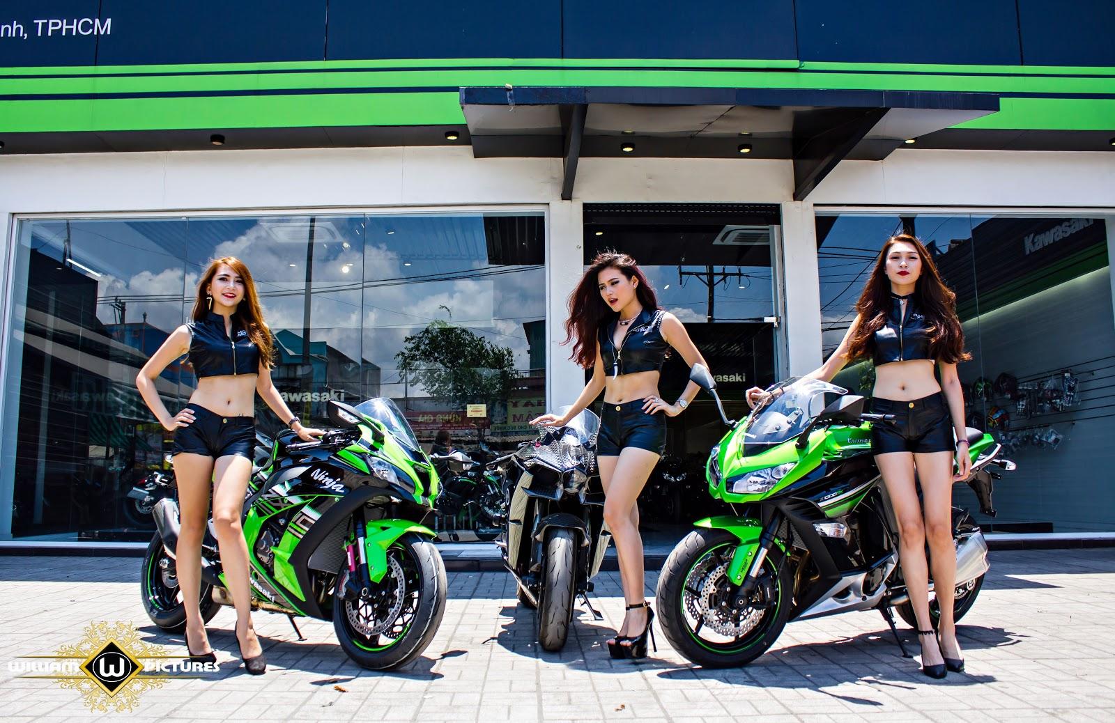Kawasaki Girls - Quái thú & người đẹp