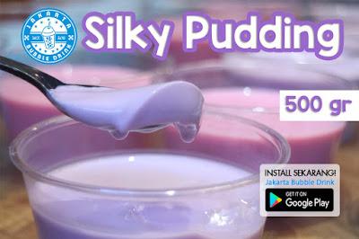 jual bubuk silky pudding kiloan