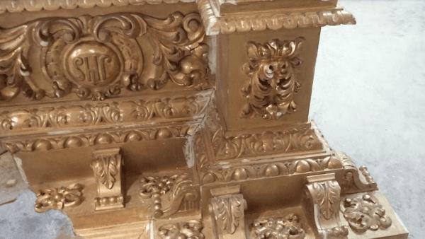 El restaurado retablo de San José de Huelva será bendecido el próximo sábado