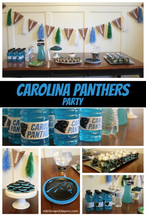 Carolina Panthers Super Bowl Party Ideas