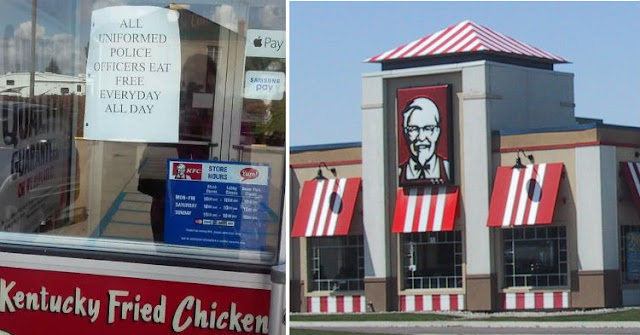 This KFC Franchise Is Letting Cops Eat Free Everyday All Day!