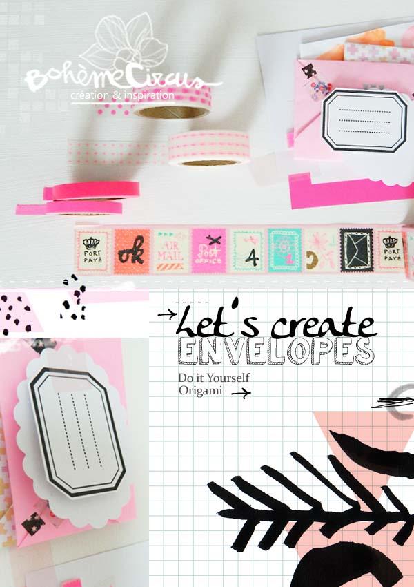inspiration  - creativity - origami - bohème circus - diy