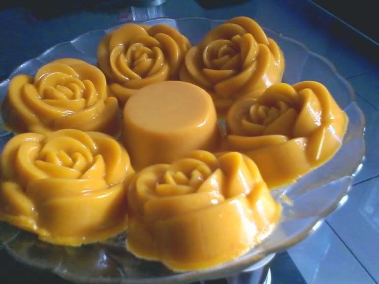 Resep Puding Labu Kuning Kukus ENak Sederhana