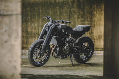 "Yamaha MT-07 ""Street Fighter"""