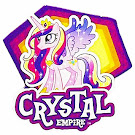 MLP Crystal Empire G4 Brushables Ponies
