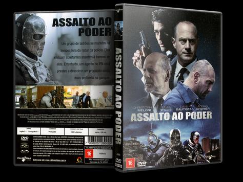 Capa DVD Assalto ao Poder (Oficial)