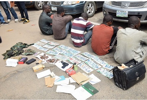 Notorious Car Snatching Syndicate Busted By Policemen In Lagos