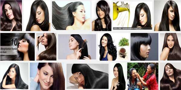 Cara Alami Membuat Rambut Hitam