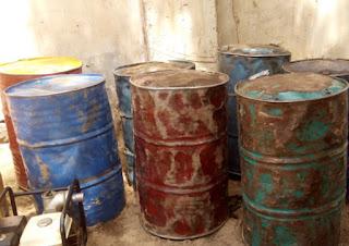 boko haram fuel depot
