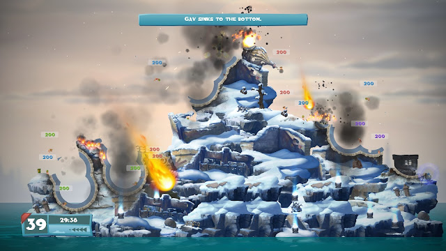 Worms on PlayStation 4 review