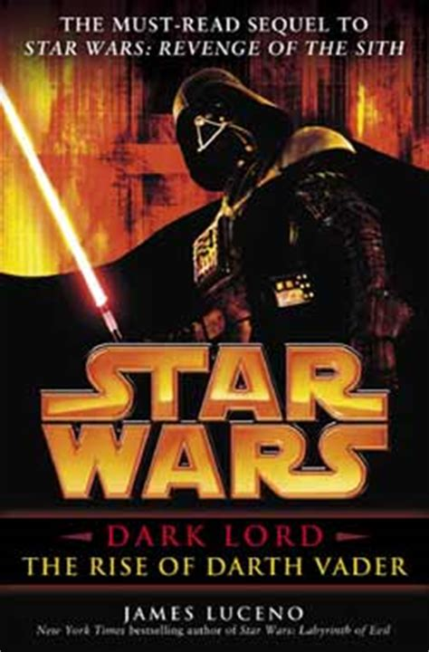 Book Review Star Wars Dark Lord The Rise Of Darth Vader