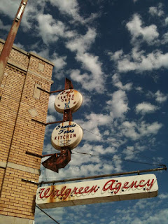 Walgreen Sign in Downtown Seminole, OK