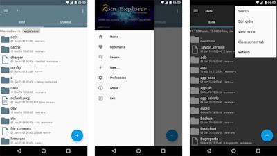 تحميل تطبيق Root Explorer  للأندرويد مجانا