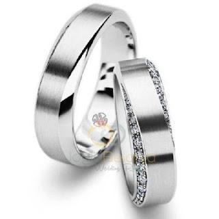 Model Cincin Berlian Pria Dan Wanita Klasik Pernikahan Terbaru