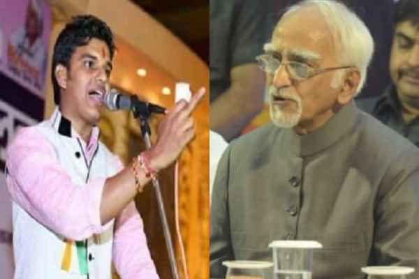 kavi-amit-sharma-slams-hamid-ansari-told-him-only-muslman