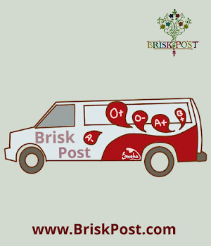 Illustration of white and red coloured Blood Collection Truck on National Blood Donation Day