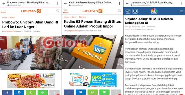 Prabowo Sebut Unicorn Bikin Uang RI Lari ke Luar Negeri, Inilah Faktanya!