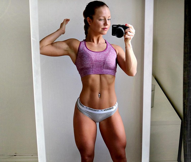 Swedish Fitness Model Denice Moberg 3