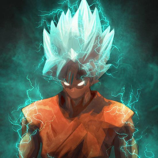 Saiyan God Goku 4k Dragon Ball Z Animated Wallpaper