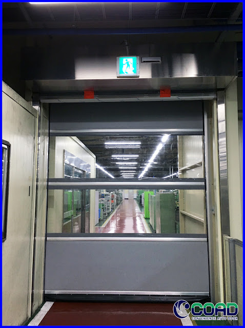 COAD, HIGH SPEE DOOR, ROLL UP DOOR, ROLLING DOOR, KOREA, JAPAN, INDONESIA, MALAYSIA, THAILAND, VIETNAM