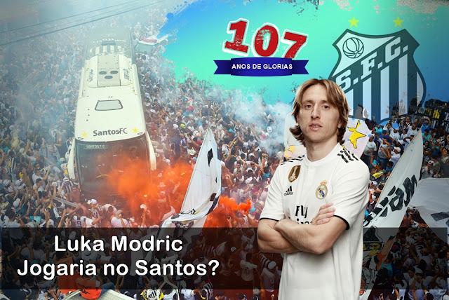107 ANOS Luka Modric Jogaria no Santos - 17 Reforços para o melhor Santos de cada Época