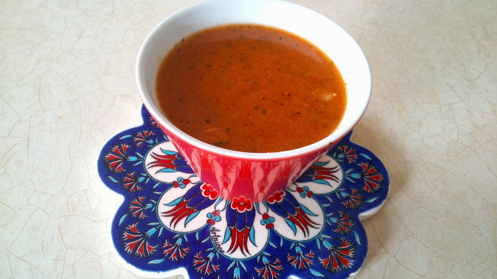Gribe Karşı Tarhana Çorbası