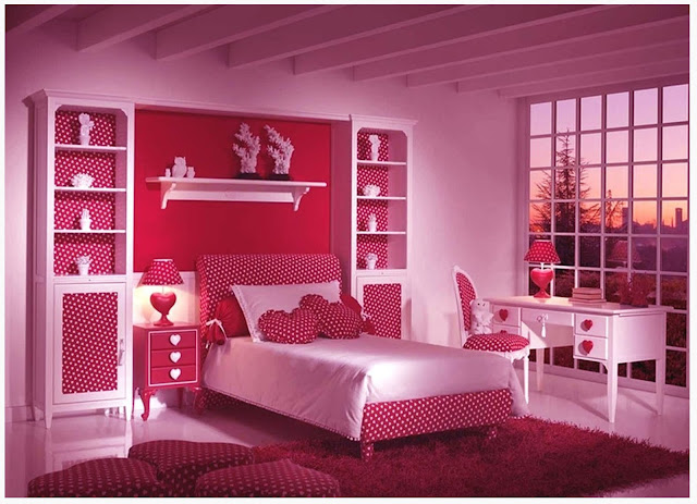 Colorful bedroom ideas for teenage girls home design ideas for Colorful teenage bedroom ideas