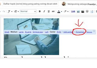 Cara menambahkan Alt dan Title pada gambar di blog