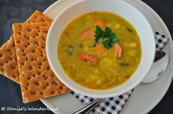 Super Tasty Dutch Winter Split Pea Soup: Erwtensoep - Denise's ...