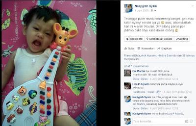 Mainan anak usia 9 bulan