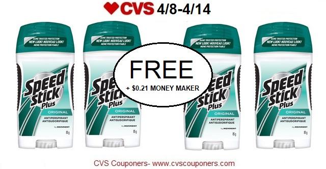 http://www.cvscouponers.com/2018/04/free-021-money-maker-for-speed-stick.html