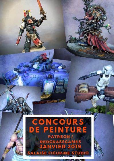 [Concours du patreon] Le concours de peinture du mois de février 2019